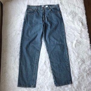 Calvin Klein Vintage Medium Wash Denim Jeans Sz 36